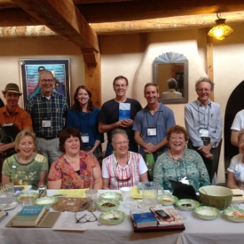 Class picture of my beloved students at the Taos NM Writers Conference this summer
