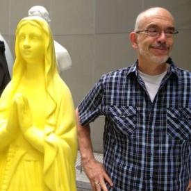 Mugging at MOMA in NY, springtime