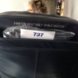 On a flight tio Miami, whileseated right behind Rod Stewart, I get in touch with my inner fan boy.