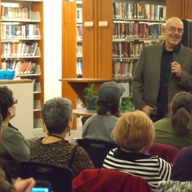 Traveled back to my hometown for a reading at Otis Library