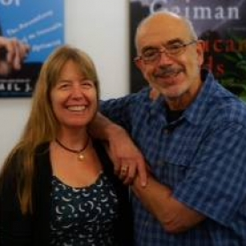 With audio actor Maggie-Meg Reed, who narrates the role of Annie Oh, one of WAW's main characters